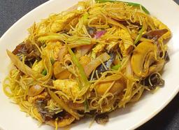 Fideos de Arroz al Curry