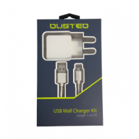 Dusted Cargador Pared + Cable Micro Usb 2.4A