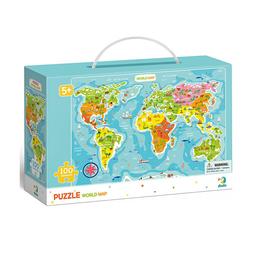 Dodo Rompecabezas Mapa Del Mundo
