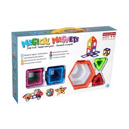 Magical Magnets Ficha de Construcción Magnética Varios Colores