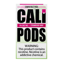 Cali Pods Juul 4 Pack Strawberry Mint