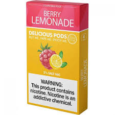Delicious Pods Para Juul Pack 4 Berry Limonade