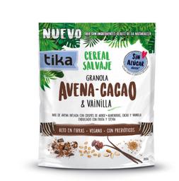 Tika Snack Cereal Salvaje Avena Cacao