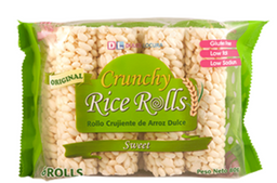 Crunchy Rice Roll Snack Dulce