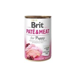 Brit Care Alimento Húmedo Pate & Meat Puppy 400 g