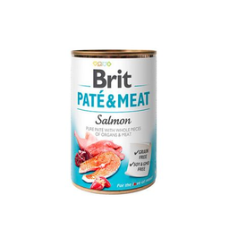 Brit Care Alimento Húmedo Pate & Meat Salmón 400 g