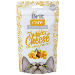 Brit Care Alimento Cat Snack Truffles Cheese 50 g