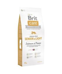 Brit Care Alimento Seco Gf Senior & Light Salmón 3 Kg
