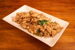 Menú Pollo Mongoliano