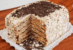 Torta Milhojas Manjar Chocolate