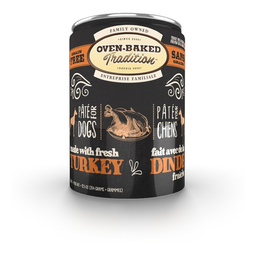 Oven Baked Snack Pate Turkey Adult Dog 354 g