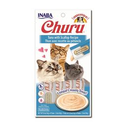 Inaba Snack Ciao Churu Atun y Ostiones Azul