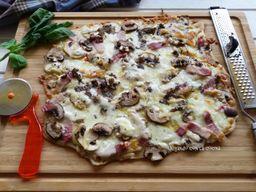 Pizza Setas Al Tartufo