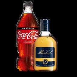 Pisco Mistral 750 + Coca Cola 1,5 lt