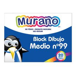 Murano Block Dibujo Medio N.99