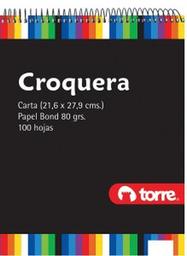 Torre Croquera Carta Imagia