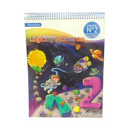 Caligrafix Cuaderno Lógica y Números N°2