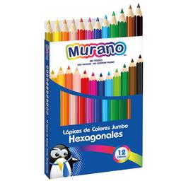 Murano Lápiz de Color Jumbo Hexagonal