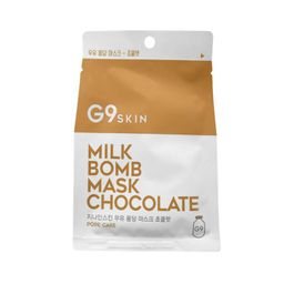 Mascarilla de Papel G9 Skin Chocolate Milk Bomb Mask 1un