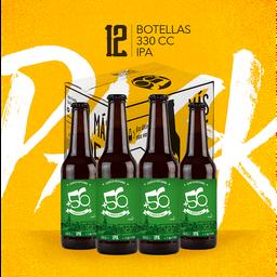 Cerveza Pack 12u +56 IPA 5° 330cc