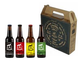Pack Regalo 4 Cervezas +56