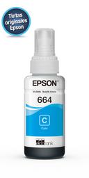 Tinta Epson T664220 Cyan