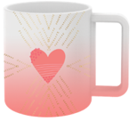 Mug Heart 12 Oz.