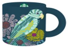 Mug Ceramic Parrot 12 Oz.