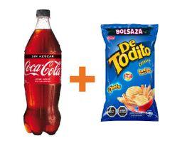 Bebida Coca Cola Variedades 1,5lt + Detodito Originial 140gr