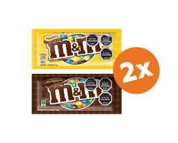 Promo 2x Chocolate M&M 42gr Variedades