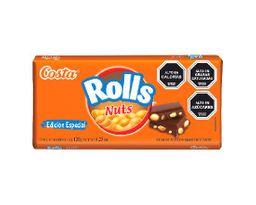 Tableta Rolls Nuts 120gr c/u