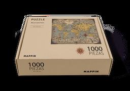 Mappin Rompecabezas Mapa de Maravillas 1.000 piezas