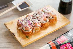 Ceviche Roll + Bebida