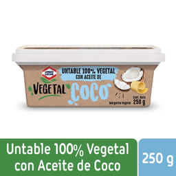 Loncoleche Margarina Vegetal Aceite Coco