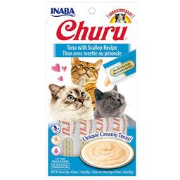Churu Alimento Para Gato Atún/Ostiones 56 g