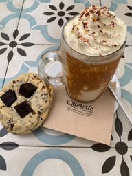 Frappu Caramel y Choco Chip Cookies