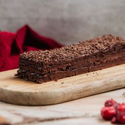 Tronco Panqueque Chocolate Manjar