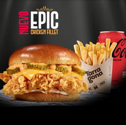 Combo Epic Chicken Fillet