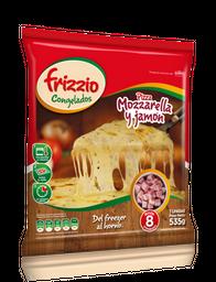 Pizza Jamón y Mozzarella