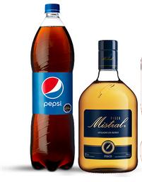 Combo: Pisco Mistral 35° 750 Cc + Pepsi O Pepsi Zero 1500 Cc