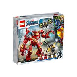Lego Set de Construcción Anti-Hulk Ironman Vs.Agente Dea.I.M