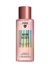 Victoria's Secret Perfume Pink Warm & Cozy Shimmer Mist 250 mL