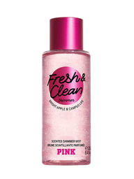 Victoria's Secret Perfume Pink Fresh & Clean Shimmer Mist 250 mL