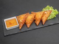 Empanadas de camarón mandarín