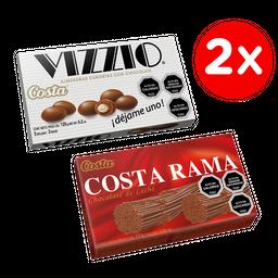 Promo: 2 x Chocolate Costa Rama 115 g