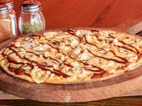 Pizza Pollo BBQ Mediana