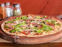 Pizza Rúcula Jamón Serrano Mediana
