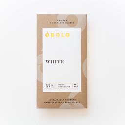 Óbolo Chocolate White 37% Cacao
