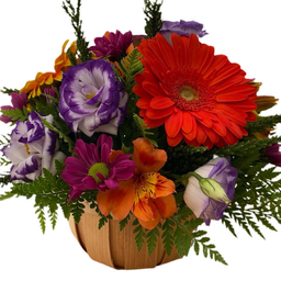Bouquet Canastillo Colorido