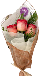 Arreglo Floral 3 Rosas